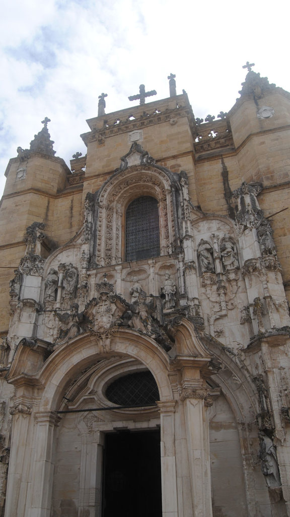 The façade of Church Santa Cruz, one of the must-see landmarks in one day in Coimbra