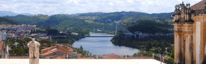 View from the Coimbra university is one of the things you can't miss in a trip of one day in coimbra