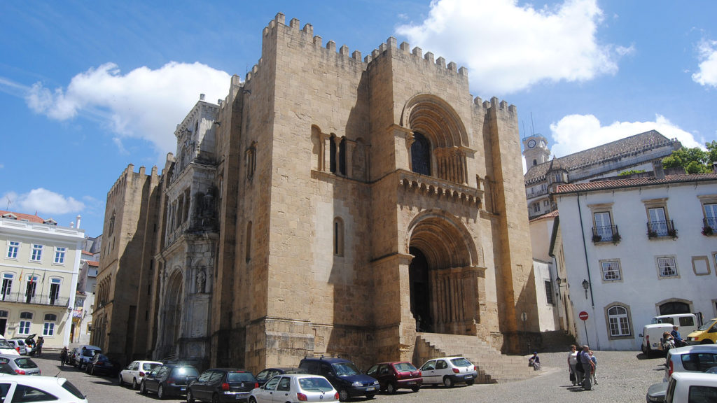 The old cathedral of Coimbra known as Sé Velha