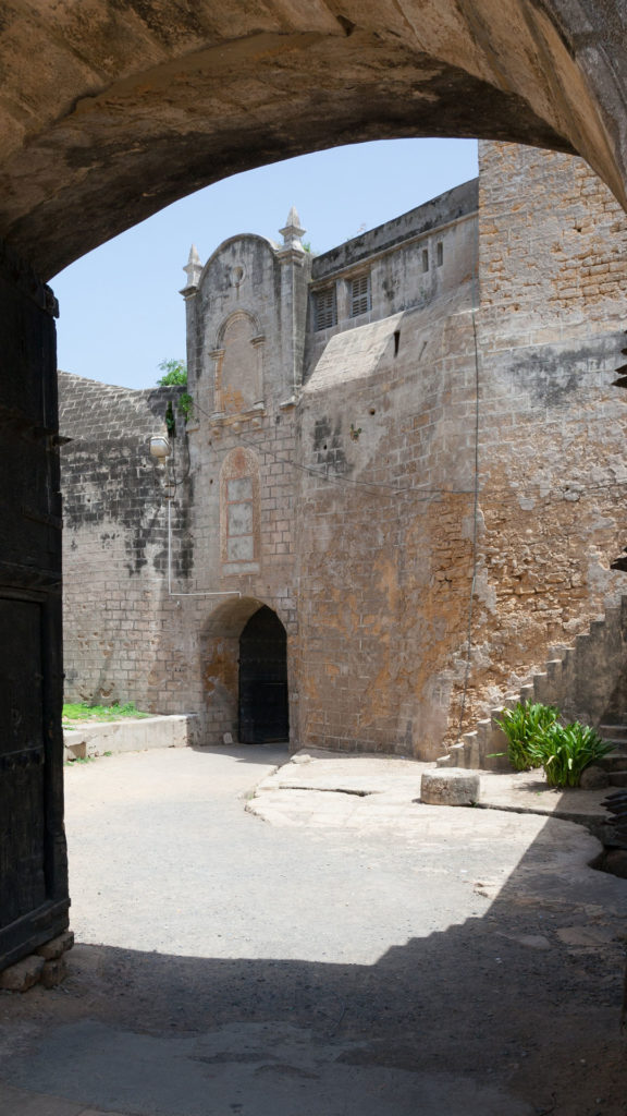 Inside the Diu Fort in India