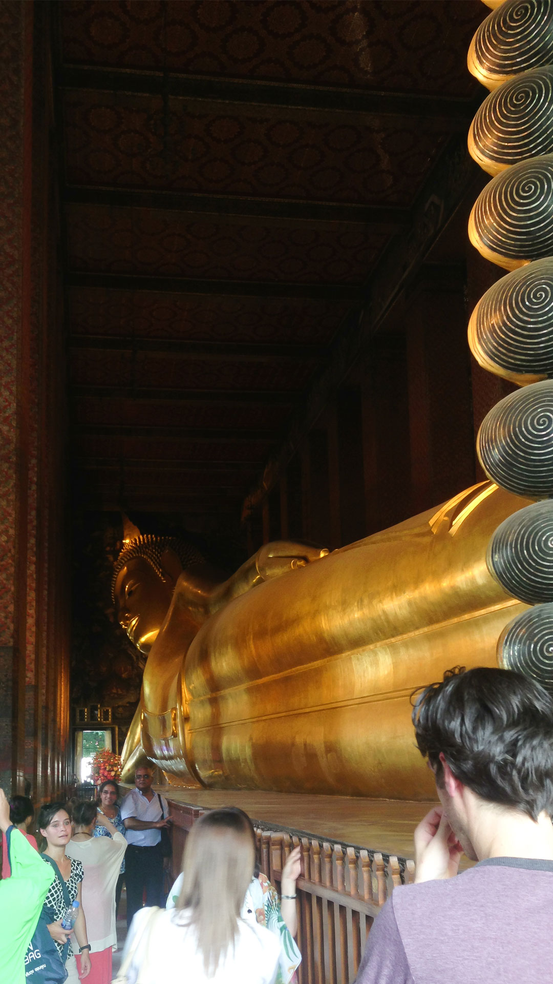 The Reclining Budha in Bangkok