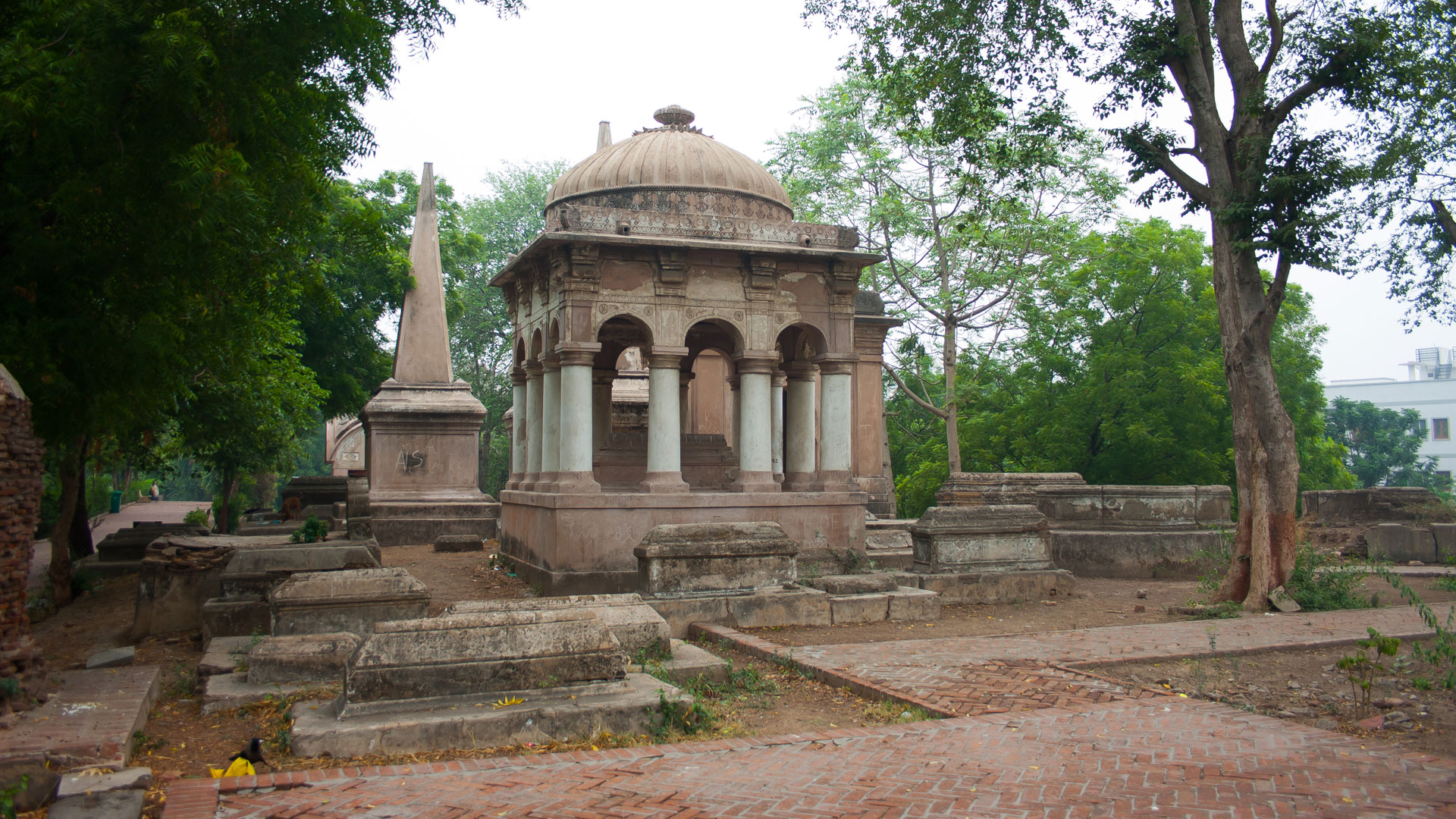 The Dutch tombs in Ahmedabad