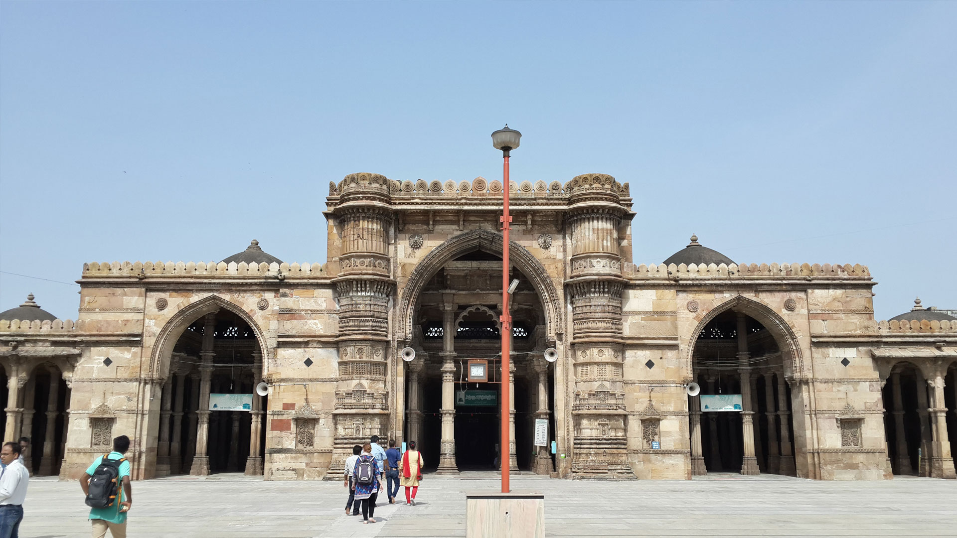 Jama Masjid Ahmedabad - one of the most popular tourist places in Ahmedabad