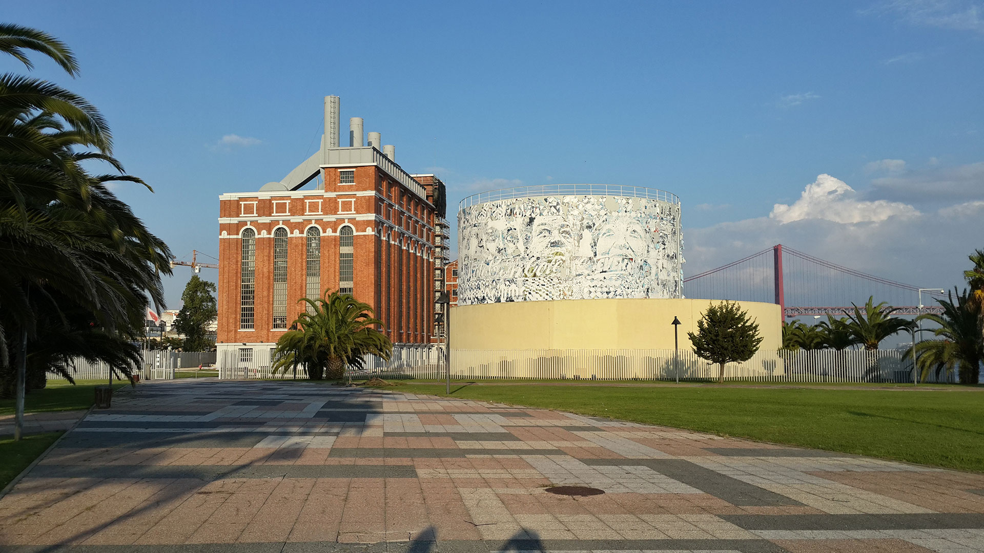 Museum of electricity in Lisbon