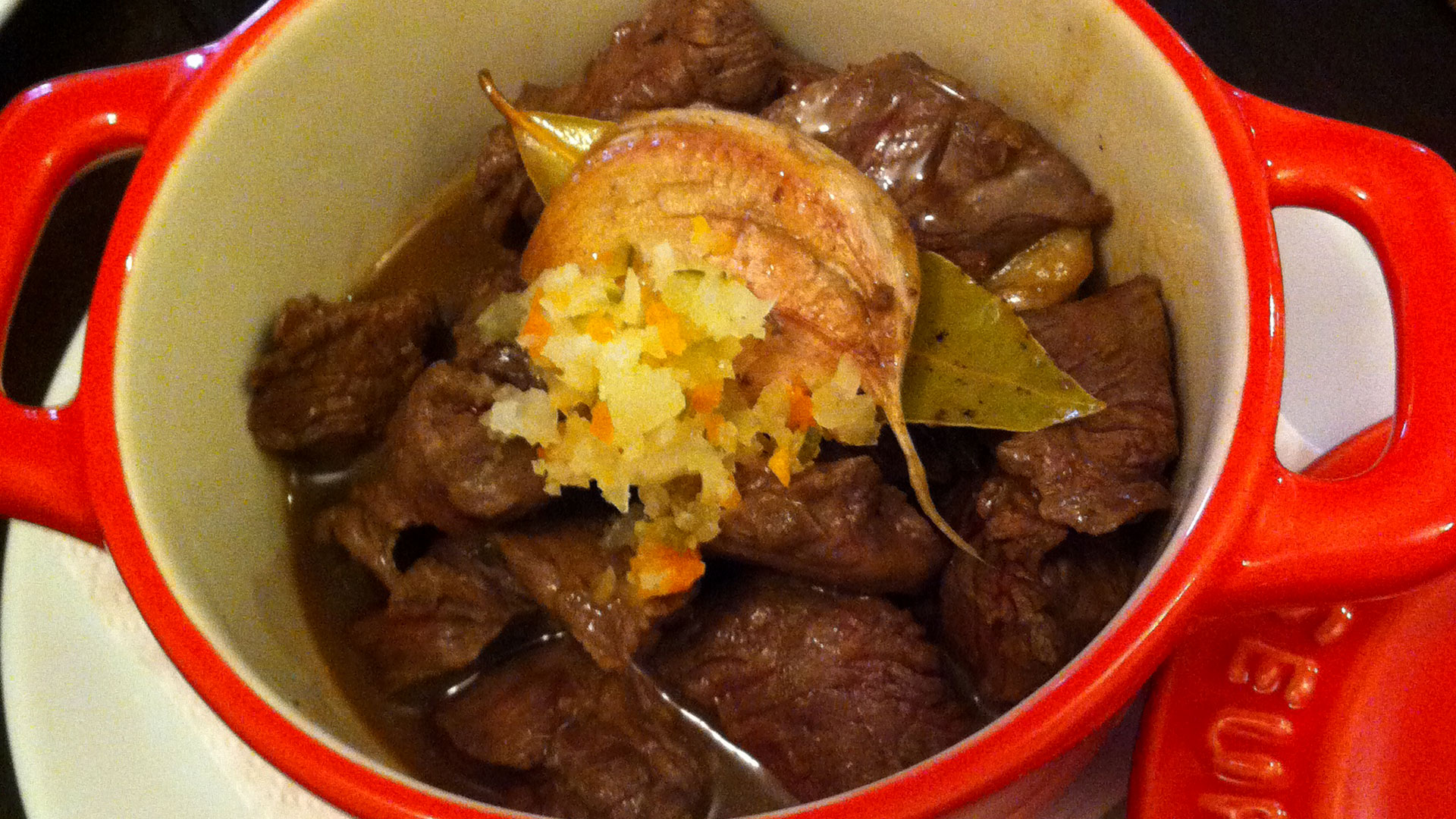 "Beef ""picapau"", a famous dish in Lisbon"