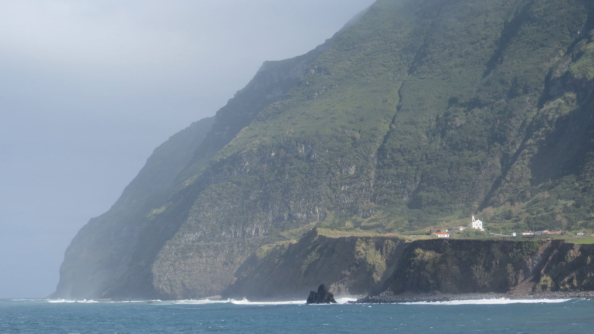 Island of Flores, the Azores, where Europe begins.