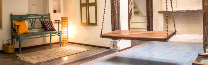 This concept of accommodation gives you the opportunity to experience the local community while you visit Ahmedabad. The mission behind the French Haveli is also to promote the local heritage by re-purposing a Historical buildings.