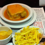 Francesinha at Lado B | 4 postcard perfect images: first impressions of Porto.
