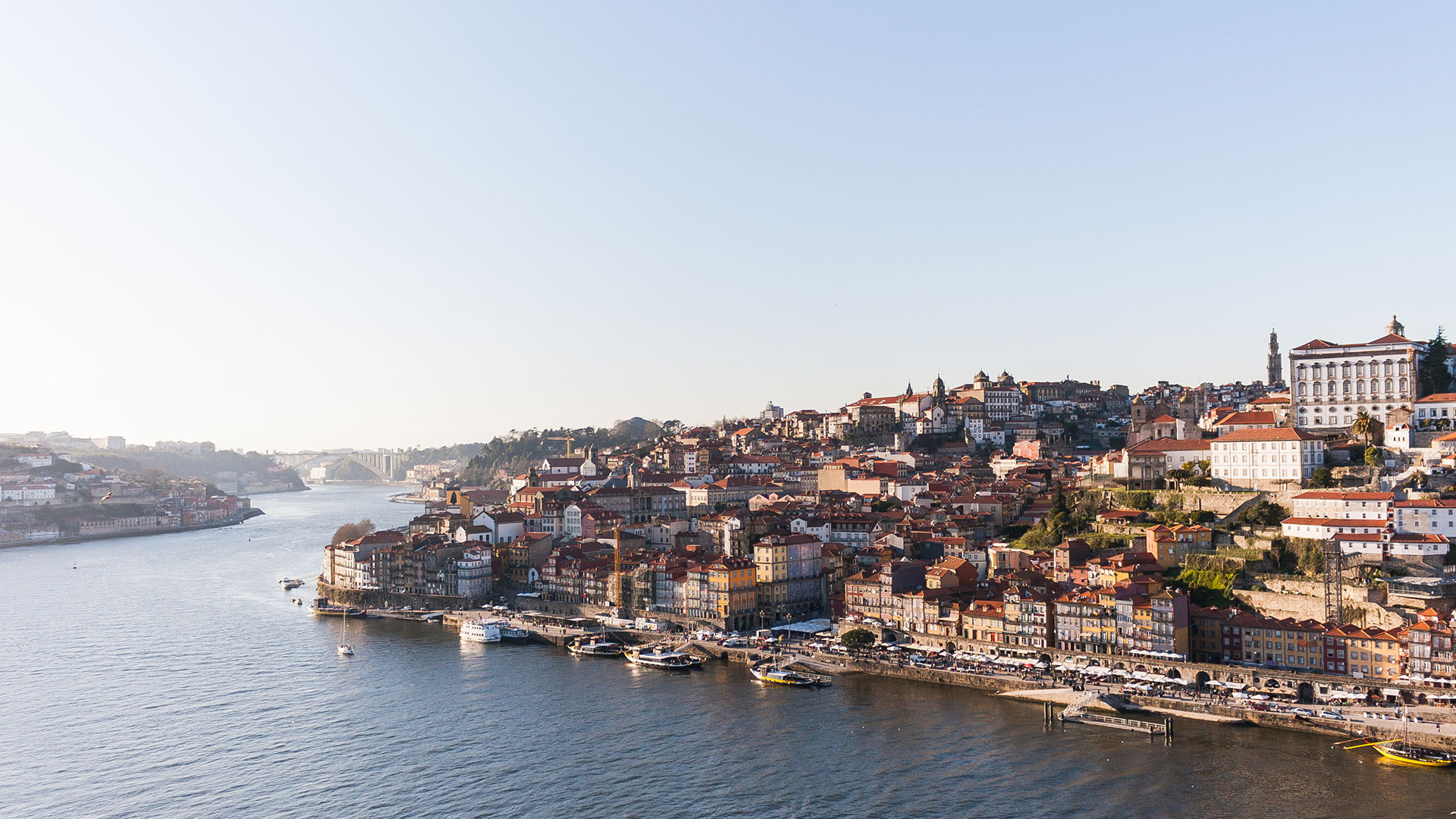 View from the top of Dom Luis bridge | 4 postcard perfect images: first impressions of Porto.
