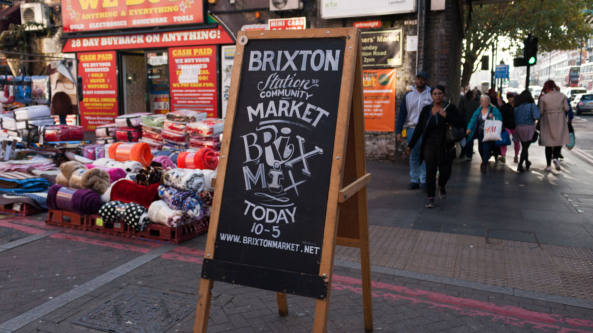 Brixton Market | 7 Offbeat Things to Check Out in London
