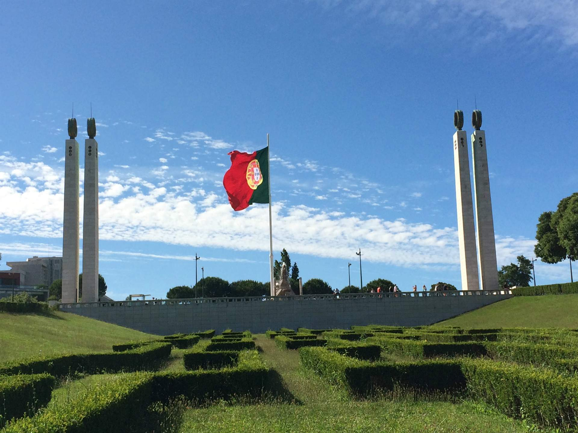 Parque Eduardo VII | 32 Free and Paid Spots to See Lisbon from the Top