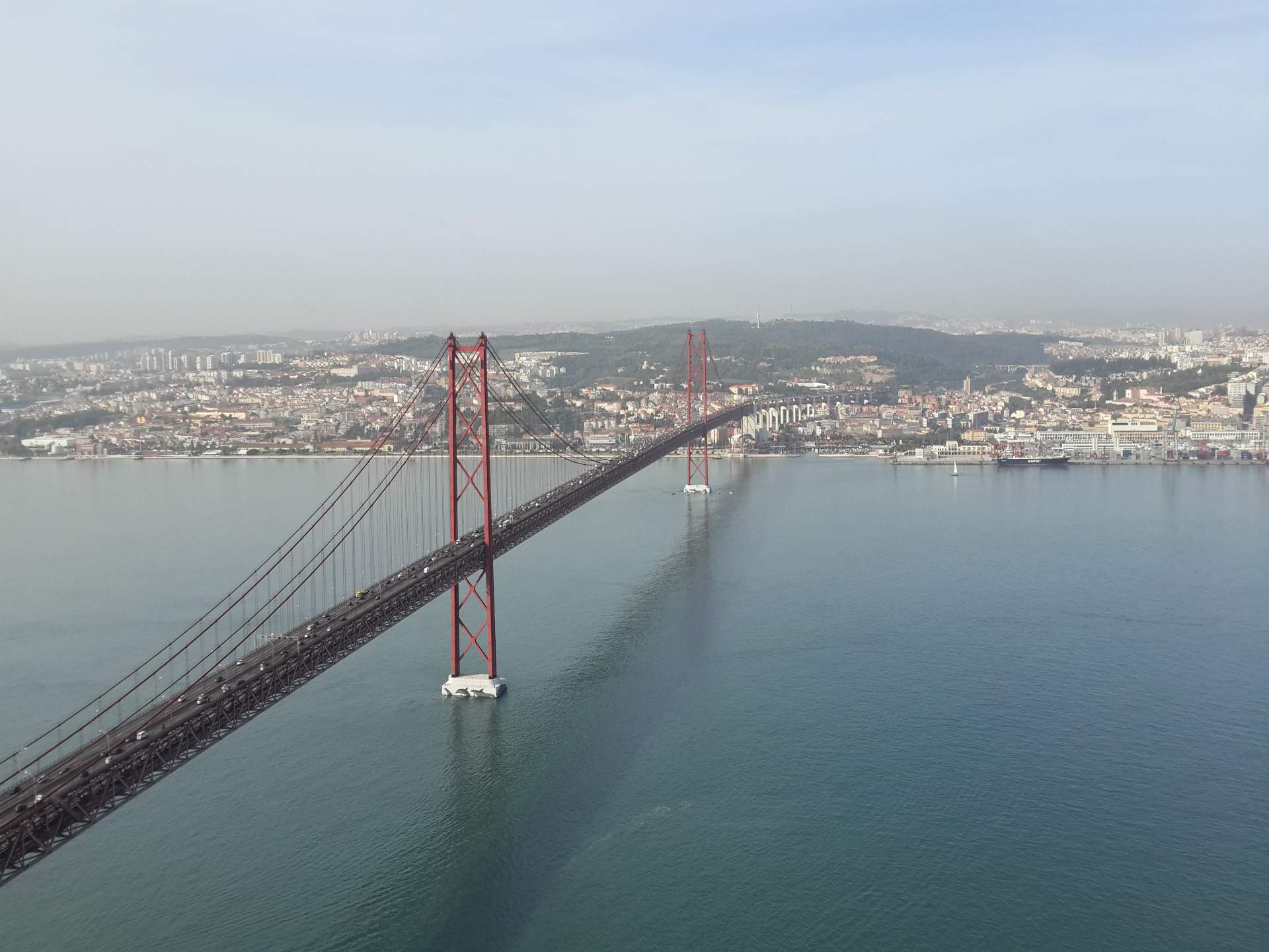 View from Cristo Rei | 32 Free and Paid Spots to See Lisbon from the Top