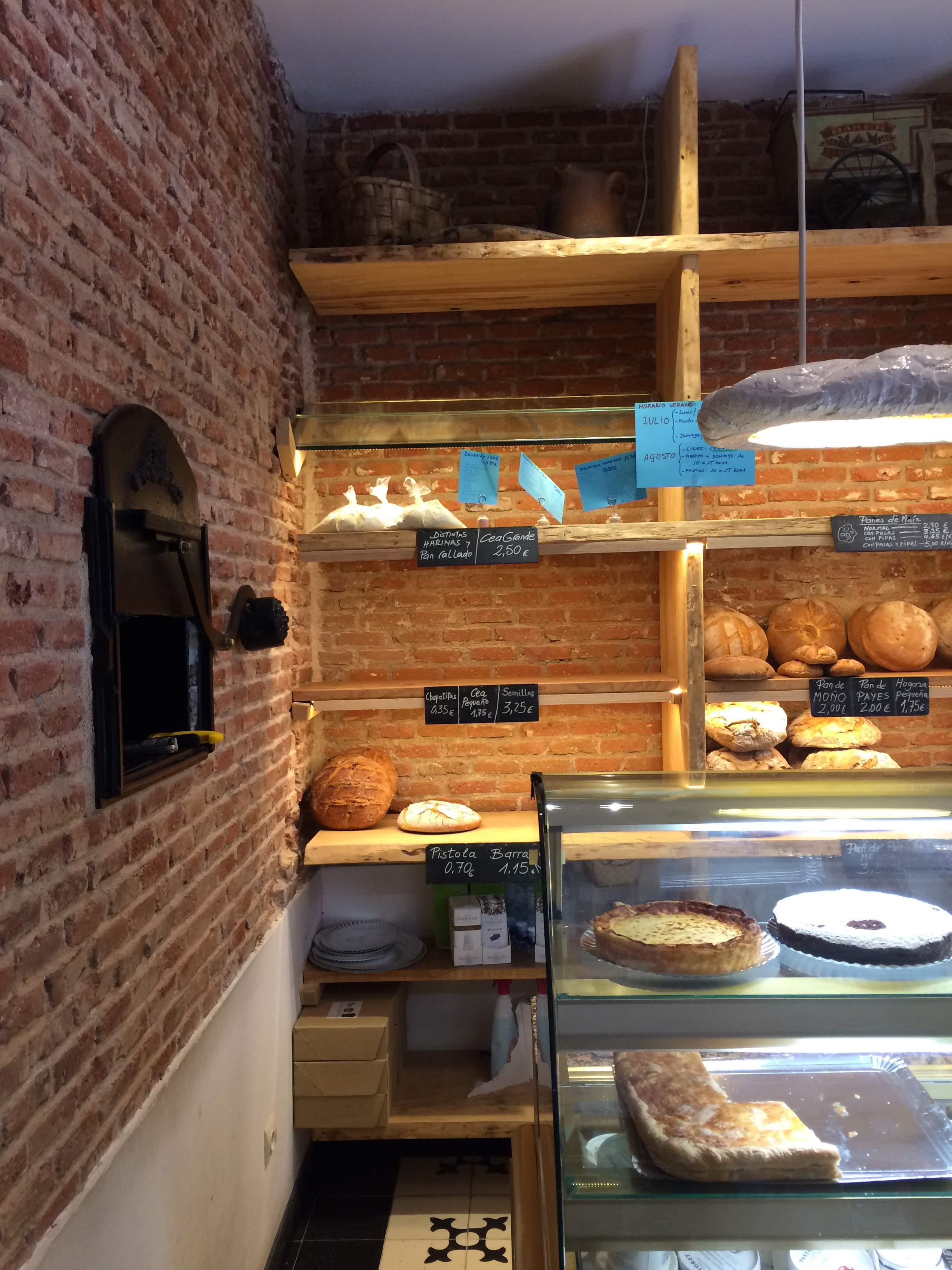 A sweet farewell with cheesecake at Pan de Pi | Devour Madrid food tour review by www.tripper.pt