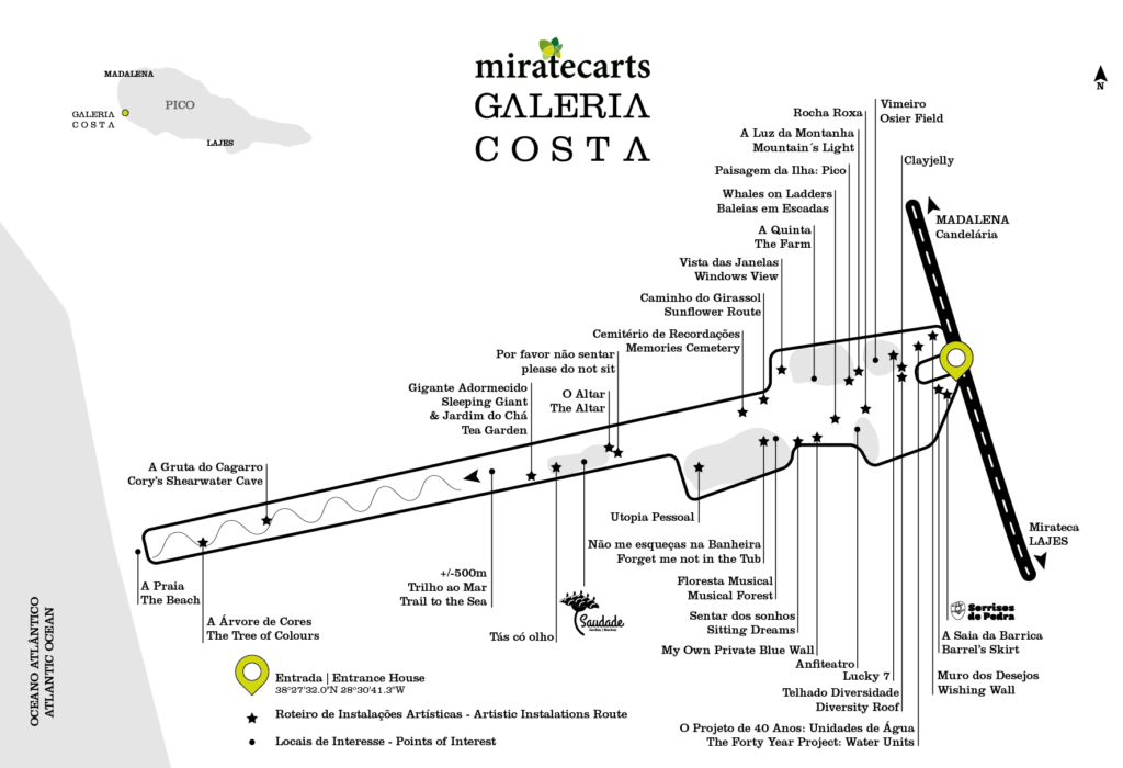 Map of Galeria Costa in 2017