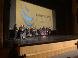 The founders and the new generation of Fantasporto together on stage.