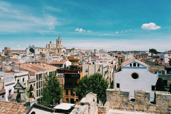 The city of Tarragona is one of the places to visit in the Catalonia region of Spain